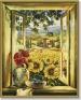 Вид из окна Раскраска по номерам, 40 см х 50 см Серия: Meisterklasse Premium артикул 1463a.