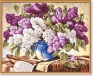 Букет сирени Раскраска по номерам, 40 см х 50 см Серия: Meisterklasse Premium артикул 1466a.